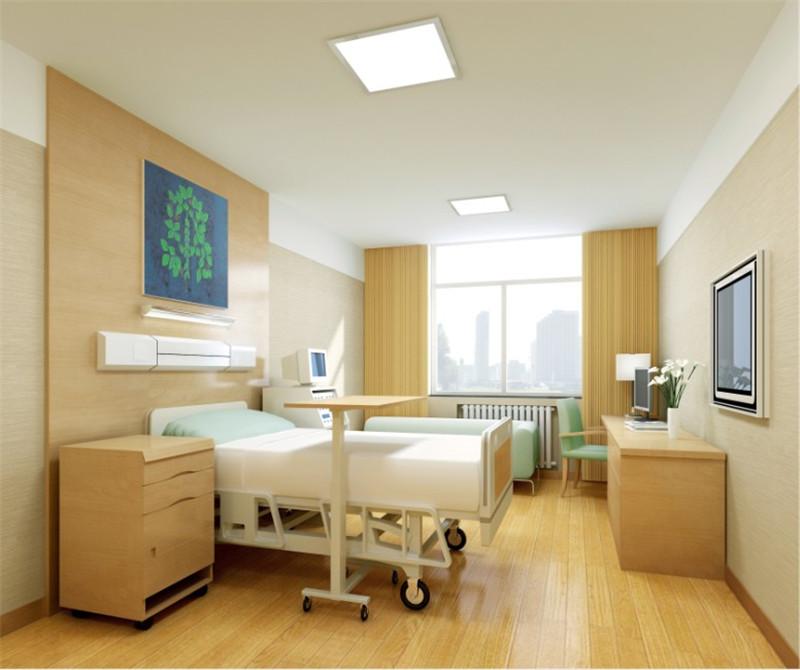北京望京新城医院装修设计-单人病房效果图